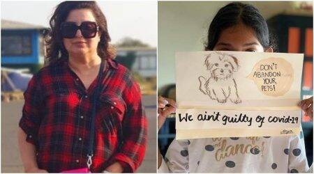 farah khan daughter anya raises coronavirus donations for stray animals