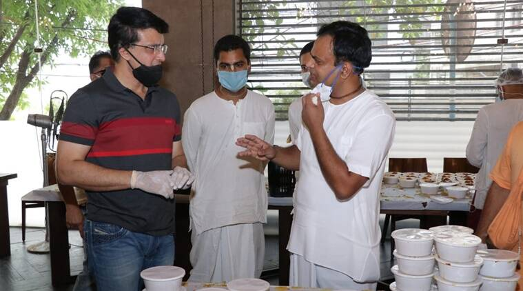 Sourav Ganguly helps feed 10,000 people daily during India lockdown