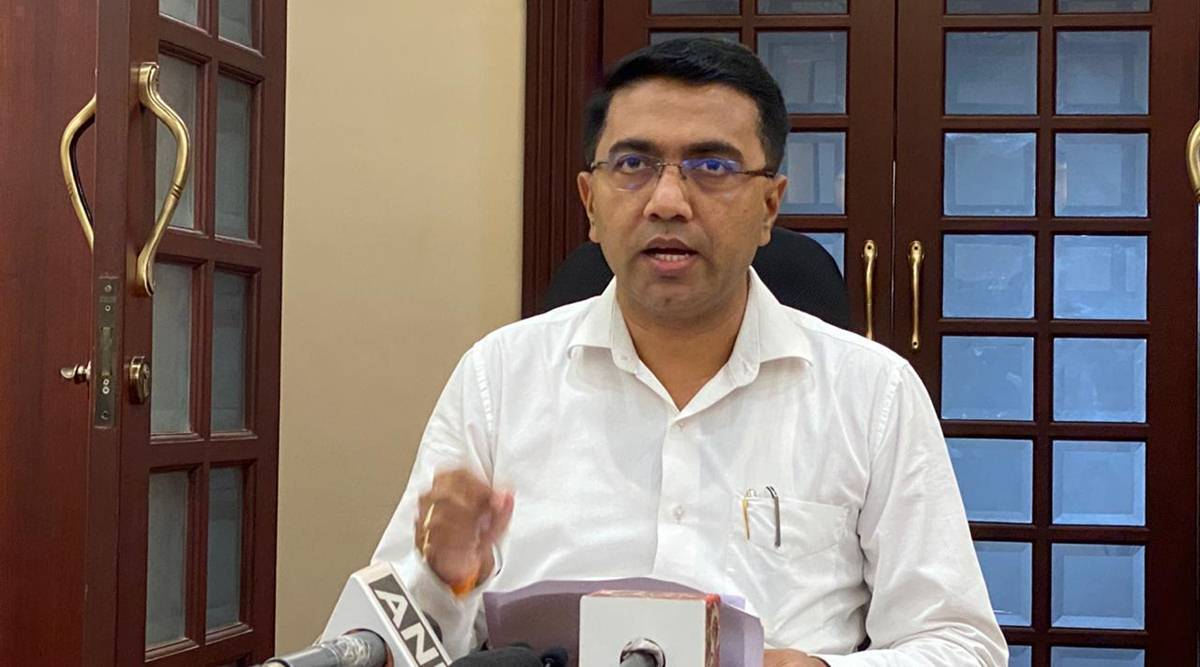 goa liberation anniversary celebrations, pramod sawant on nehru, Goa chief minister, goa independence day, goa news, indian express