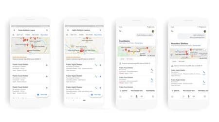 Google Maps, Google COVID-19, Google Maps COVID 19 data, Google Maps food shelter, Google Maps Food shelters in India