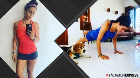 #see10do10challenge,push ups, gul panag fitness, indianexpress.com, indianexpress, work from home, lockdown, quarantine fitness, fitness goals, lockdown india, how to keep fit, push ups benefits,