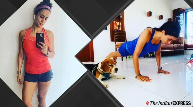 Can't balance work and exercise at home? Take inspiration from Gul Panag
