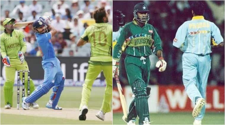 India vs Pakistan, India vs Pakistan World Cup clash, Venkatesh Prasad, Aamer Sohail, Rohit Sharma 140, Sachin Tendulkar 98, India vs Pakistan World Cup 2003, virat kohli hundred World Cup 2015
