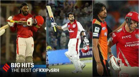 kxip vs srh, kings xi punjab vs sunrisers hyderabad, kings xi punjab vs deccan chargers, kxip vs dc, Yuvraj Singh IPL hattrick, Amit Mishra hattrick, Glenn Maxwell 95, Paul Valthaty, KL Rahul, Chris Gayle, IPL 2020 coronavirus