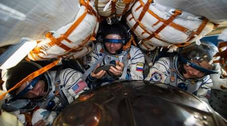 Kazakhstan, ISS Space Crew, US-Russian Space Crew