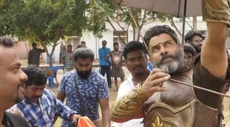 Vikram in Mahavir Karna