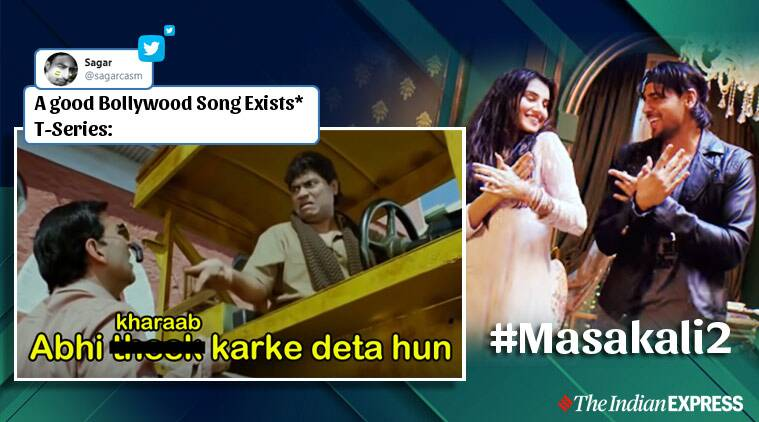 Netizens hit back with jokes and memes after release of Masakali 2.0