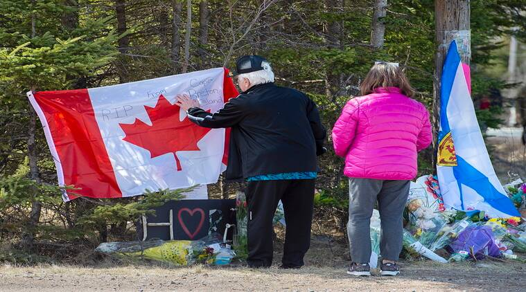 Canada mass shooting, Canada weapons ban, Canada bans weapons, Nova Scotia mass shooting, Canada shooting, Nova Scotia shooting, World news, Indian Express