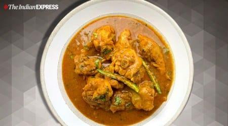 PUNJABI CHICKEN CURRY, how to make PUNJABI CHICKEN CURRY, chicken recipes, easy chicken recipes, indianexpress.com, indianexpress, chicken curry recipe, indianexpress.com, indianexpress, maunika gowardhan recipes, maunika gowardhan, simple recipes, Punjabi dishes, easy chicken recipes, easy Punjabi recipes, north indian recipes, lockdown cooking, quarantine cooking, isolation cooking, punjabi dish,