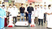 Chennai: Stanley hospital deploys robots to deliver medicines to COVID-19 patients
