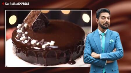 ragi chocolate cake, how to make ragi cake, what is ragi, finger millets, indianexpress.com, indianexpress, ranveer brar recipes, chef ranveer brar, ragi benefits, chocolate cake, lockdown cooking, quarantine cooking, isolation baking, cake baking,