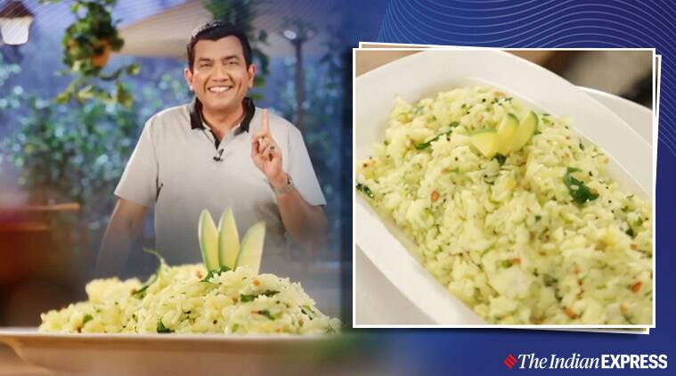 Raw Mango Rice, lunch recipes, sanjeev kapoor recipes, indianexpress.com, indianexpress, must-try recipes, how to make raw mango rice, leftover rice recipes, lockdown cooking, quarantine cooking, quarantine life, kachchi kairi recipes, raw mangon recipes, summer fruits, raw mango benefits,