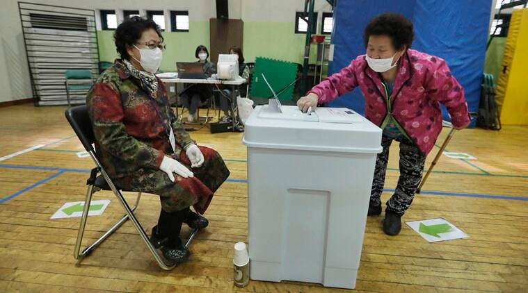South Korea holds parliamentary election under strict safety measures and pandemic