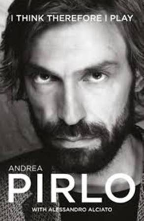book review of andrea pirlo, andrea pirlo book review, I think therefore i play review,footballer andrea pirlo book