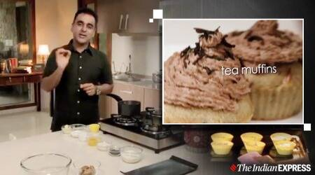 tea-time munching, baking, baking treats, indianexpress.com, indianexpress, cakes, muffins, how to bake a muffin, tea time muffin, easy recipes, easy dessert recipes, chef vineet bhatia, michelin chefs, michelin vineet bhatia, home quarantine baking, quarantine baking, quarantine cooking,