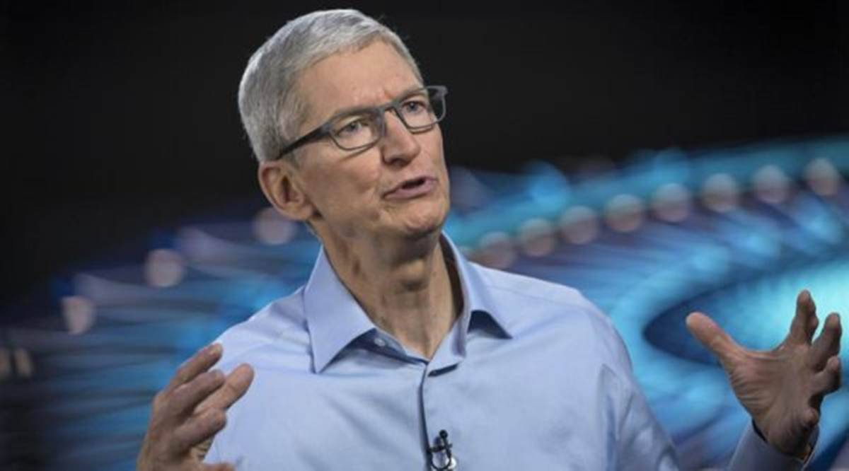 Apple, Apple business in India, Tim Cook, Apple CEO Tim Cook, Apple revenue, Technology news, Indian express
