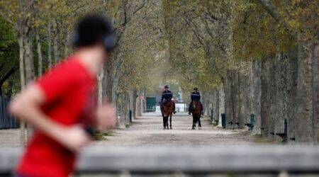 outdoor sports banned in paris, france lockdown, no sports activity in paris, covid 19 hit sports, coronavirus in france