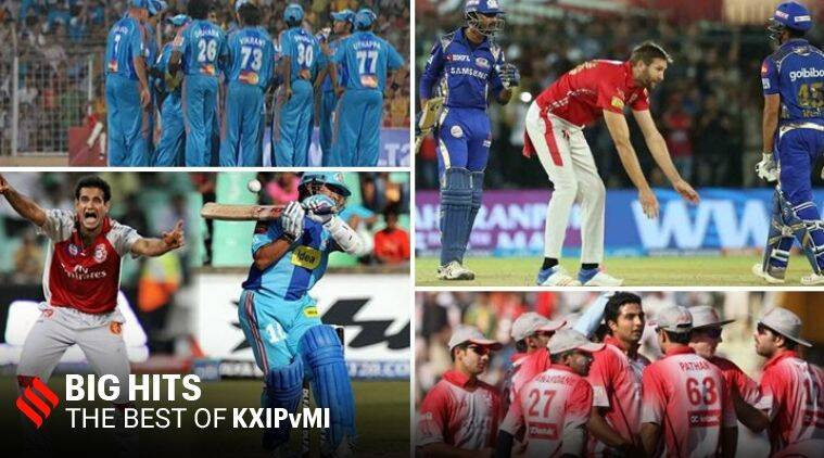 IPL big hits, MIvKXIP, KXIPvMI, all matches MIvKXIP, best moments KXIPvMI, indian premier league, ipl 2020, kings xi punjab, mumbai indians, kxip vs mi best matches, mi vs kxip best matches, mi vs kxip highlights, kxip vs mi highlights, ipl videos, ipl highlights, cricket news, sports news, indian express news