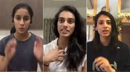Double trouble, PV Sindhu, PV Sindhu interview, Jamimah rodriques and Smrith Mandhana show, cricket show double trouble, world champion PV Sindhu