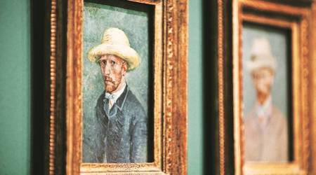 Vincent van Gogh elf-portrait