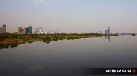 covid-19, coronavirus, india lockdown, delhi lockdown impact on yamuna river, ganga river clean, kapil sibal, india lockdown air pollution, coronavirus impact, kapil sibal indian express