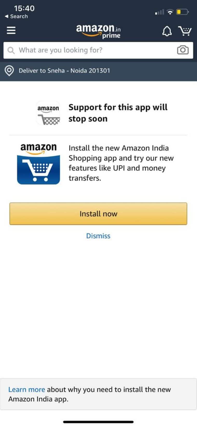 Amazon Prime shutting down
