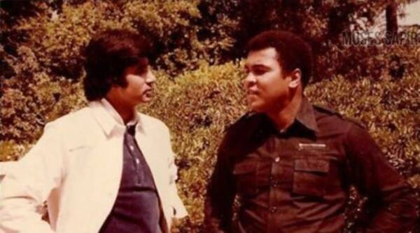 Amitabh Bachchan and Muhammad Ali film