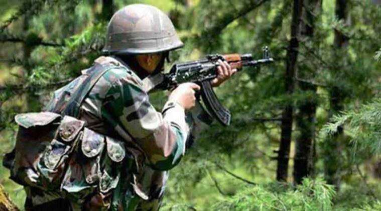 Five militants, three soldiers die in Kashmir gunbattle
