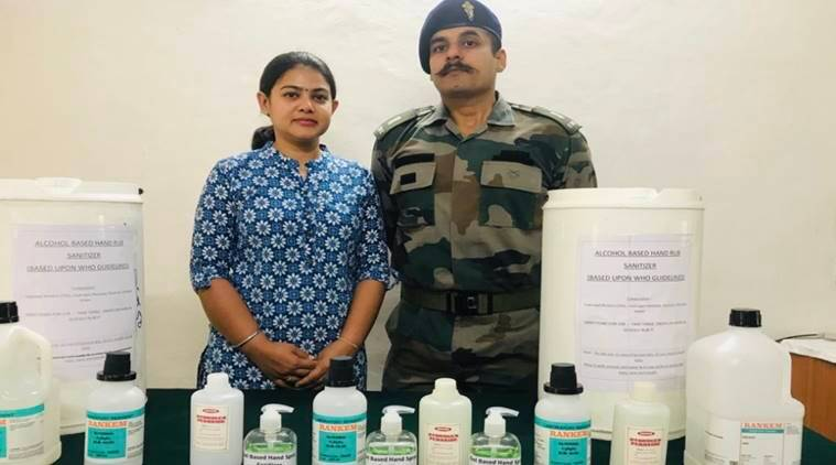 Major, wife prepare low cost aloe vera based sanitiser for Army troops