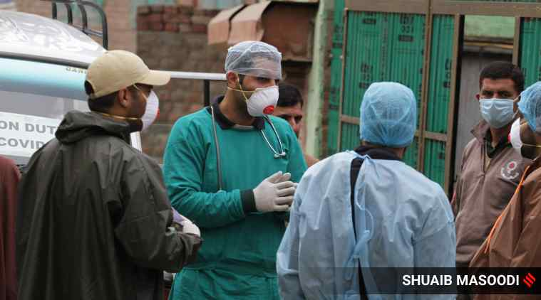 10 out of 14 new coronavirus cases in Kashmir connected to Tableeghi Jamaat