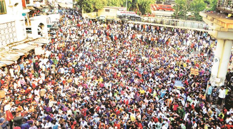 Migrant workers, India lockdown, Coronavirus cases, Bandra station, Mumbai news, Indian express news
