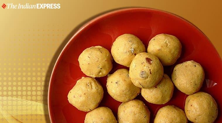 besan laddoo, besan laddoo benefits, maunika gowardhan, indianexpress.com, indianexpress, how to make besan laddoo,