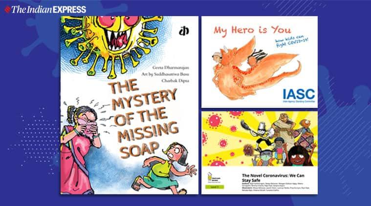 coronavirus, coronavirus, children book, coronavirus, children book on coronavirus, coronavirus, children books, indian express, indian express news