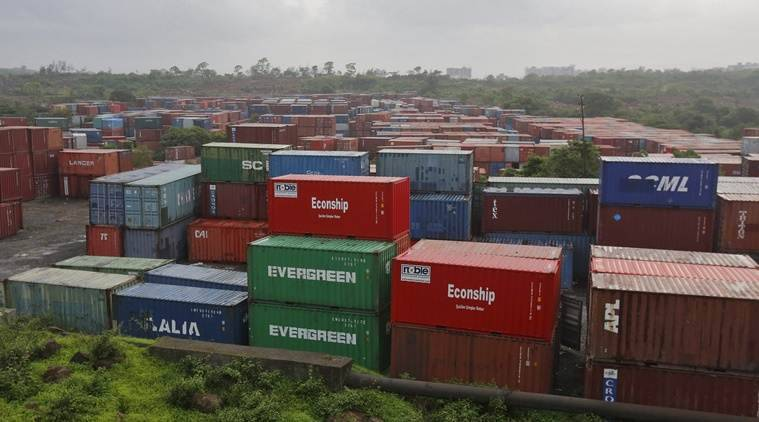 The cargo was then kept at the freight station located about 20 km from the city and there was no residential locality within the vicinity of the storage area