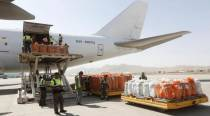 107 cargo flights ferried over 138 tonnes of PPEs, enzymes, medical gear