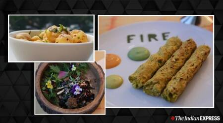 snacks, chaat, dilli chaat, makhana recipes, makhana recipes, quinoa recipes, Bhutte aur Khoye ki Seekh, indianexpress.com, indianexpress, seekh recipes, quarantine life, quarantine cooking,