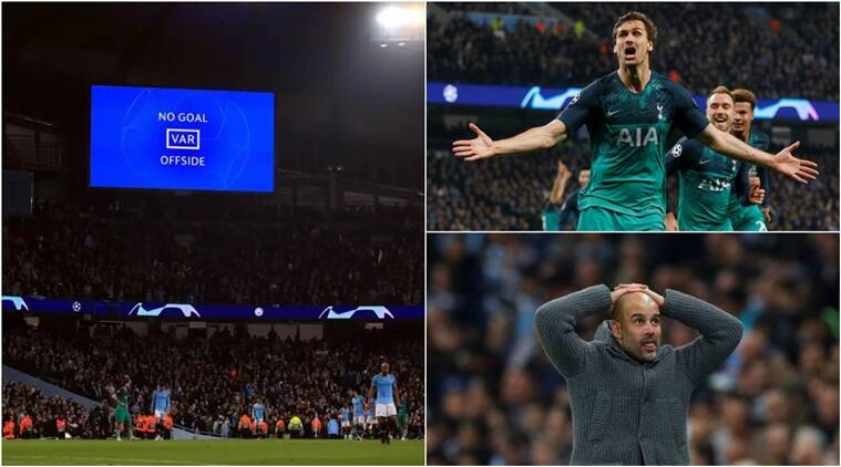 On This Day Var Steals Headlines As Spurs Knocks Out City In Seven Goal Ucl Thriller Sports News The Indian Express