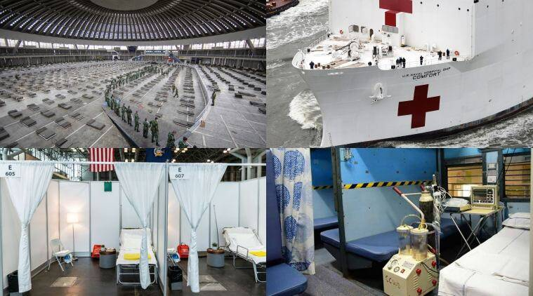 Trains in India to aircraft in Germany: Unique COVID-19 hospitals across the world