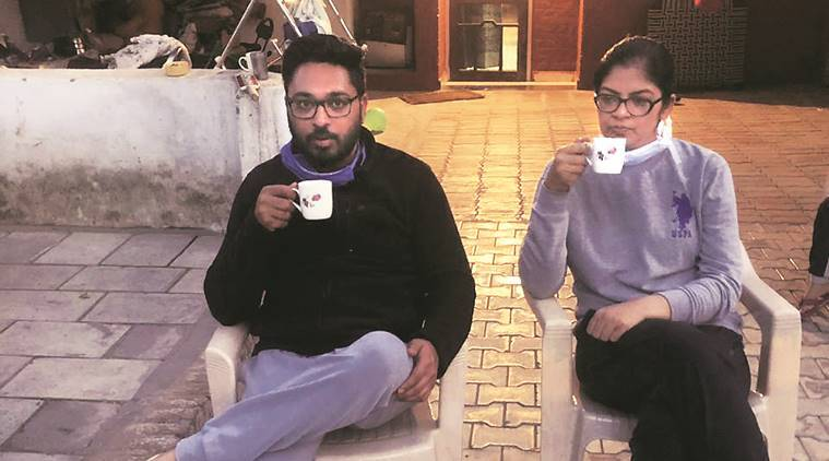 Along with coronavirus, this Chandigarh-based couple fights emotions as well