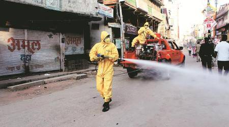 micro-containment zone, coronavirus cases, Ahmedabad Municipal Corporation, Gujarat news, Indian express news