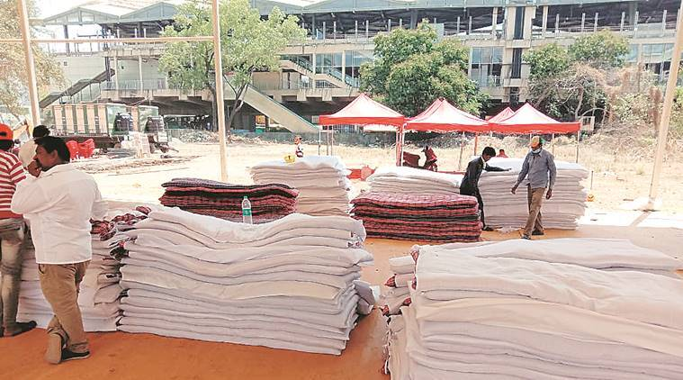 30,000 sq ft Mumbai camp ready, over 300 migrant workers to move in today