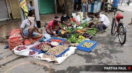 Rajkot civic body screens 1,378vegetable vendors, 5 test positive