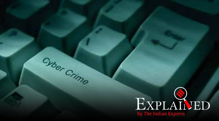 cyber crime rate, india lockdown, cyber crime coronavirus otbreak, cyber fraud, cyber fraud cases, data safety, cyber-crime hotspots, online fraud cases, indian express