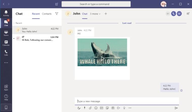 Microsoft Teams, security flaw in Microsoft teams, gif vulnerability in teams, gif used to attack Microsoft teams