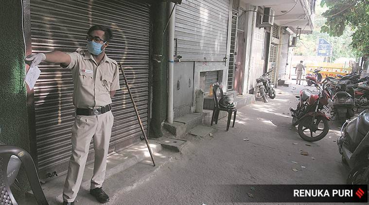 India lockdown, coronavirus outbreak, covid 19 cases, positive cases, indian express news