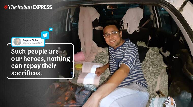 Bhopal doctor living in car to protect family from COVID-19 earns praise on social media