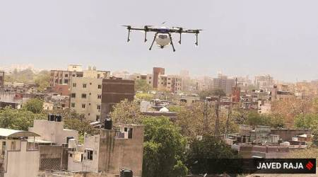2 held for advertising sale of tobacco product using drone