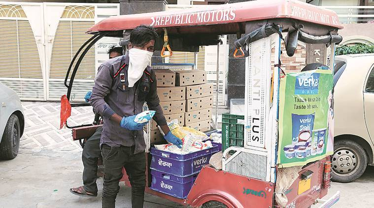 Ludhiana: E-ricks turn mobile milk booths, give migrants income to stay on