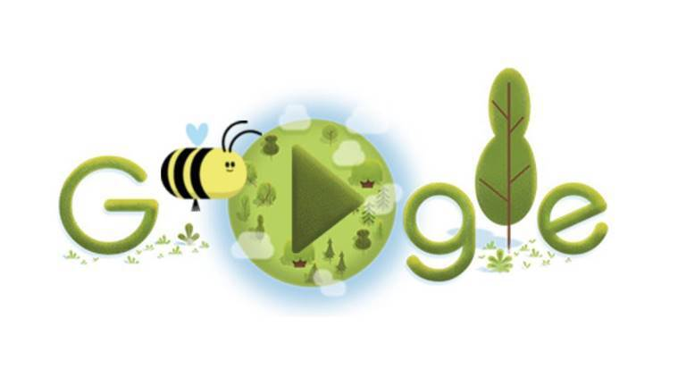 earth day 2020 google doodle,