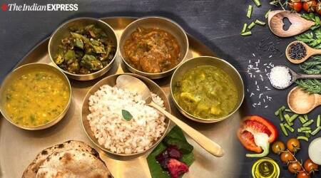 rujuta diwekar, eating right, how to eat right, portion control, rice, grains, dals or pulses, how much to eat, nutrition science, indianexpress, art of eating right, mental meal map,